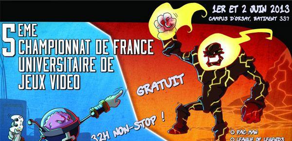 Championnat de France Universitaire de Jeux Vidéo 2013