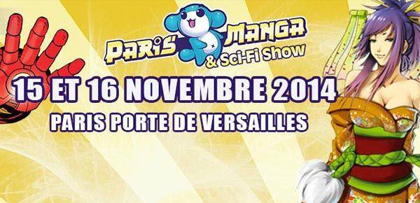 Paris Manga et Sci-Fi Show 2014 - 18ème édition