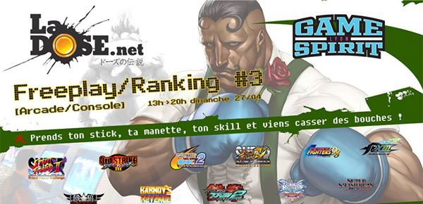 Freeplay - Ranking #3 de LaDOSE.net