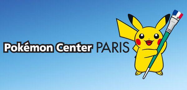 Centre Pokémon éphémère - Pikachu débarque à Paris