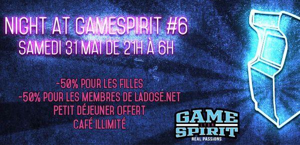 Night GameSpirit #6