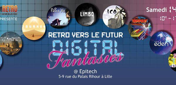 Exposition Digital Fantasies à Epitech Lille