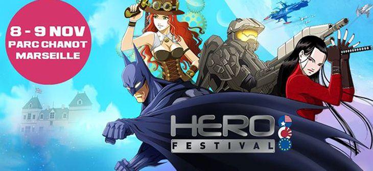 Hero Festival - premier salon des héros BD, Jeux vidéo et Séries