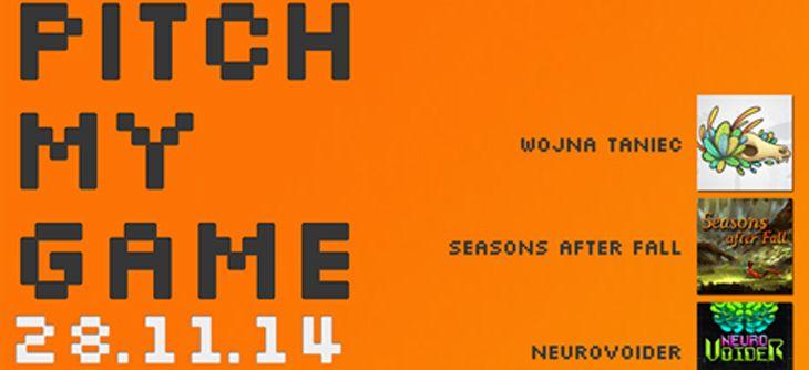 Pitch My Game 2014 - Septième édition du meet-up des jeux indépendants