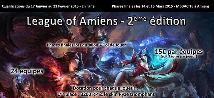 League Of Amiens 2ème édition - Phases finales