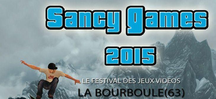Sancy Games 2015 - 6ème édition du Festival des Jeux Vidéo