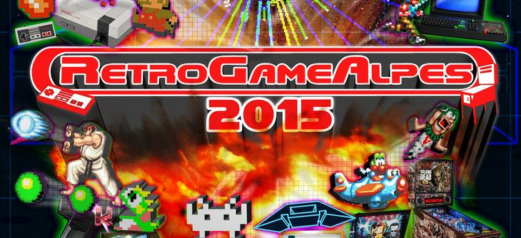 Retro Game Alpes 2015