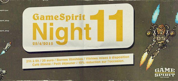 Night GameSpirit #11 - bornes arcade illimitées