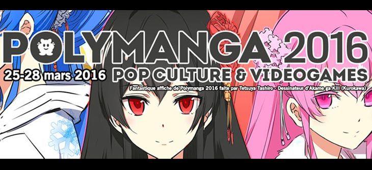 Polymanga 2016 - convention manga et videogames