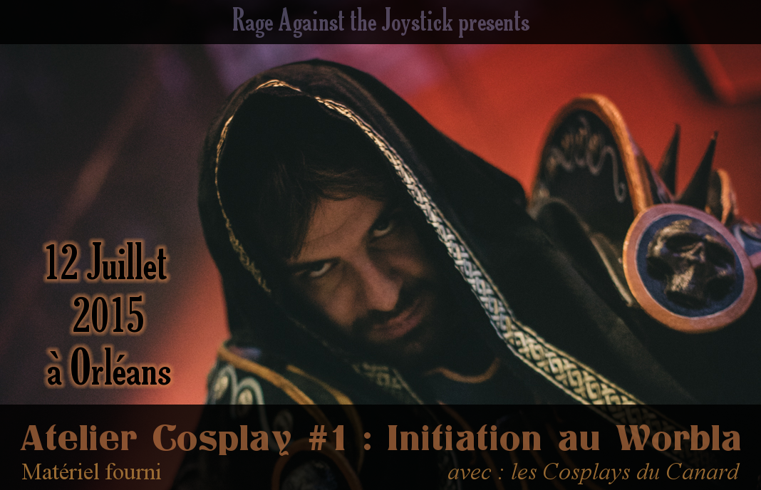 Atelier Cosplay - Initiation au Worbla