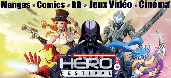 Hero Festival 2015 - deuxième édition du salon des héros BD, Jeux vidéo et Séries
