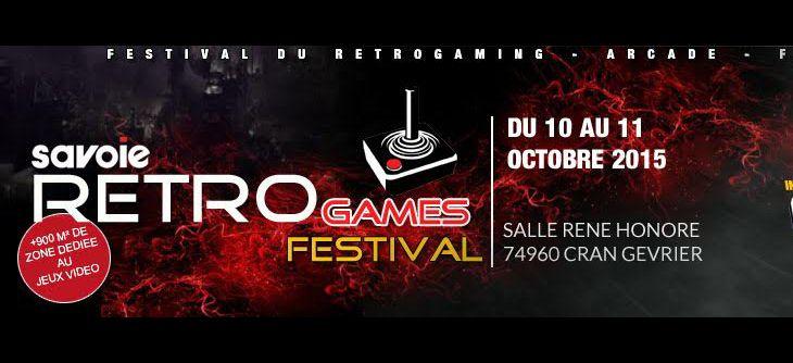 Savoie Retro Games 2015 - 4ème édition du salon sur l'histoire des jeux Video en haute Savoie