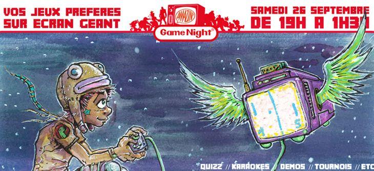 Amazin' Game Night - vos jeux préférés sur écran géant