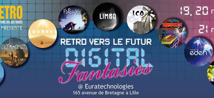 Digital Fantasies - exposition interactive sur le jeu vidéo indépendant et d'auteurs