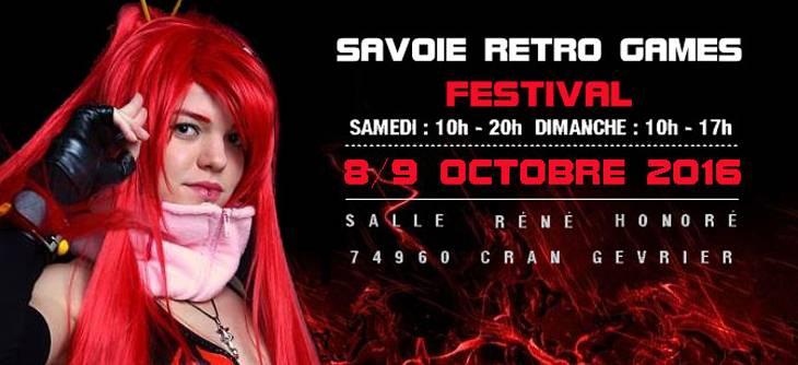 Savoie Retro Games Festival 2016 - 5ème édition du salon jeu video en haute Savoie