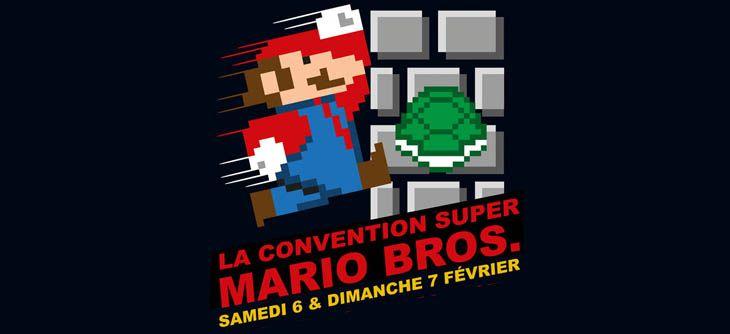 La convention Super Mario Bros
