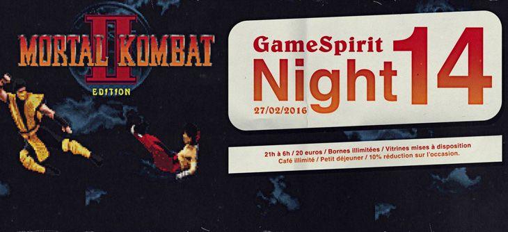 Night GameSpirit #14 - bornes arcade illimitées