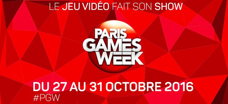 Paris games week 2016 7 me dition du 1er salon fran ais for Salon paris games week