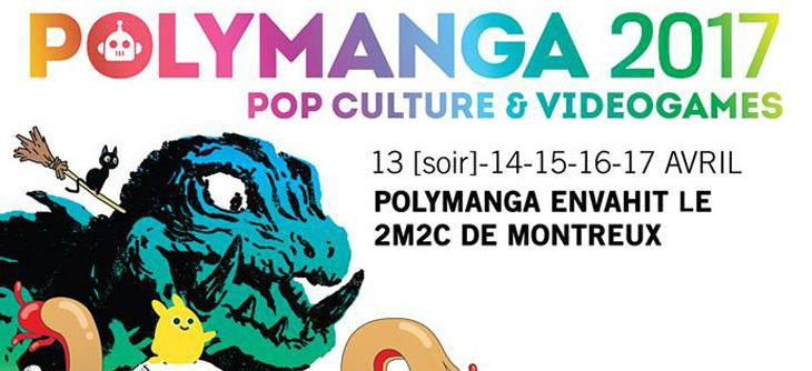 Polymanga 2017 - 13ème convention manga et jeux vidéo en Suisse