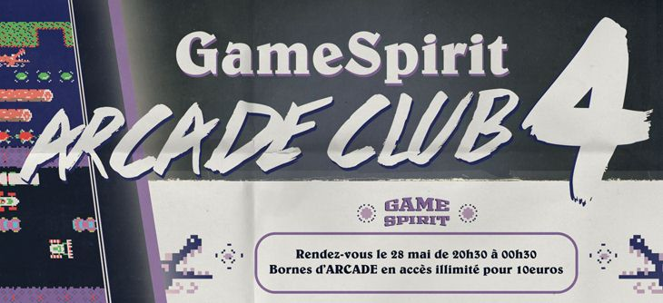 GameSpirit Arcade Club 2016 - 4ème édition