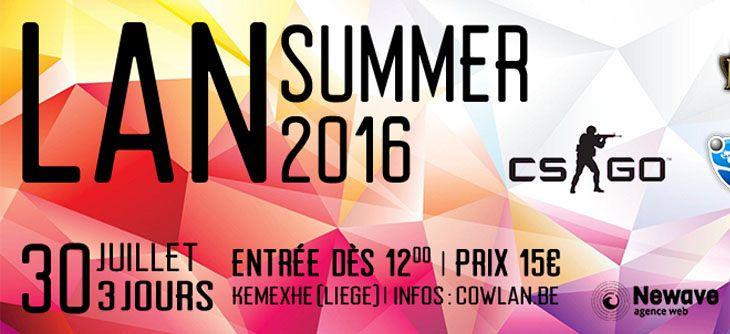 CowLAN Summer 2016