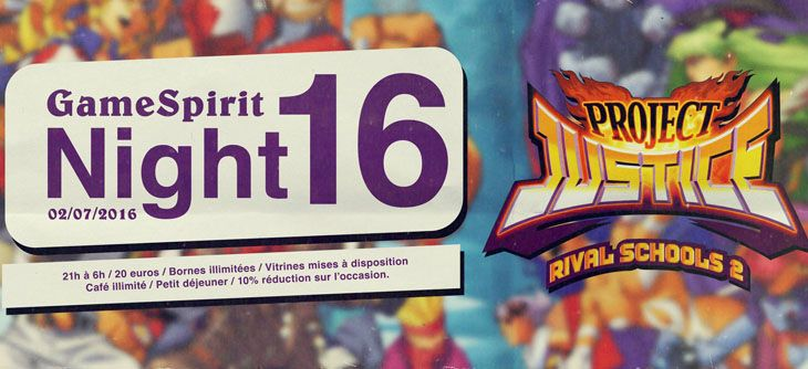 Night GameSpirit #16 - Tournoi Rival Schools 2
