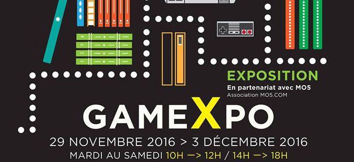 Gamexpo saint quentin du mardi 29 novembre 2016 au for Salons novembre 2016
