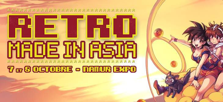 RETRO MIA 2017 - Retro Made in Asia, retrogaming et dessins animés des années 80-90