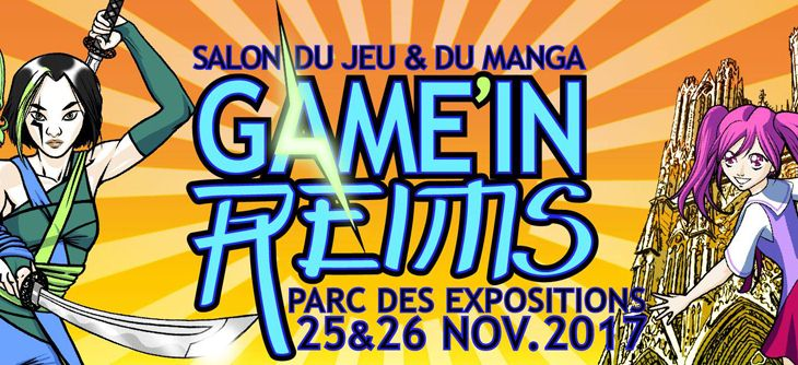 Game'in Reims - salon du jeu et du manga