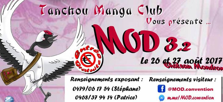 MOD 3.2 : Convention et Brocante Geek, Otaku and co