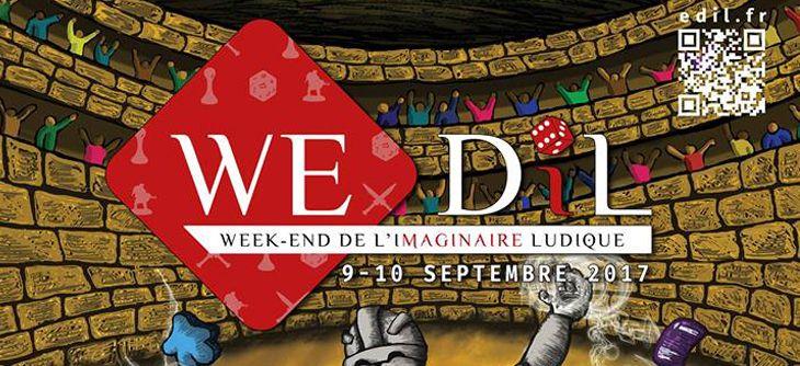 WE-DIL 2017 - Week-End De l'Imaginaire Ludique