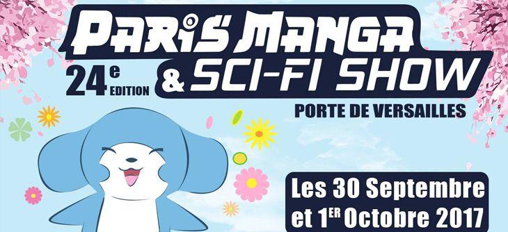 Paris Manga et Sci-Fi Show 2017 - 24ème édition