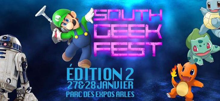 South Geek festival 2018 - Salon Geek et Science-fiction