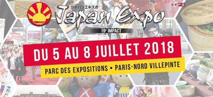 Japan Expo 2018 - 19ème impact