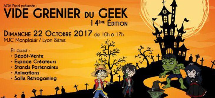 Vide Grenier du Geek Lyon 2017 - 14ème édition