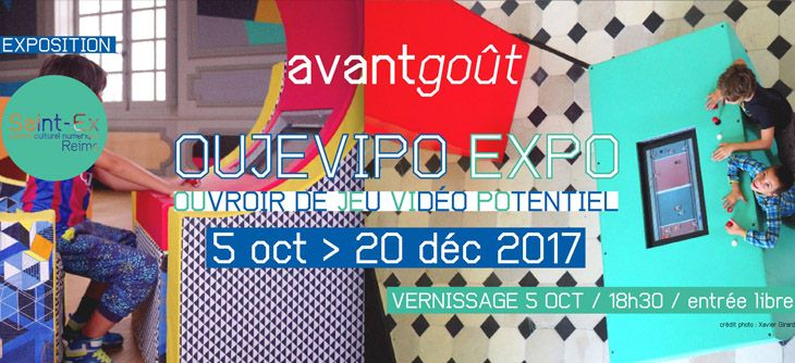 Oujevipo EXPO - OUvroir de JEu VIdéo POtentiel