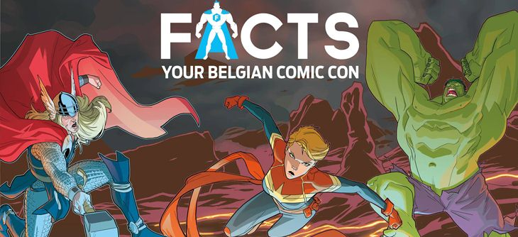 Facts 2017 - salon science fiction, comics et dessins animés