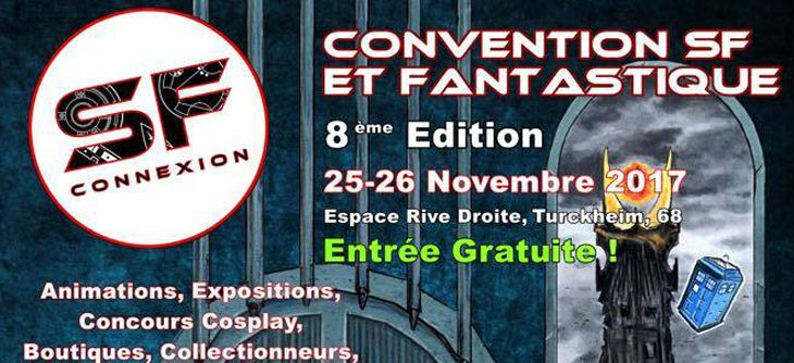 SF Connexion 2017 - 8ème édition de la convention science-fiction