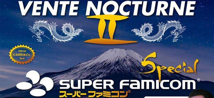 Cash and Co Vente nocturne Super famicom