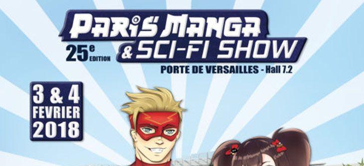 Paris Manga et Sci-Fi Show 2018 - 25ème édition