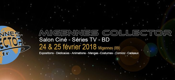 Migennes Collector 2018 - Salon Ciné, séries TV, BD