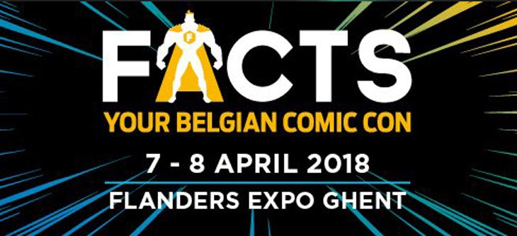 Facts 2018- salon science fiction, comics et dessins animés