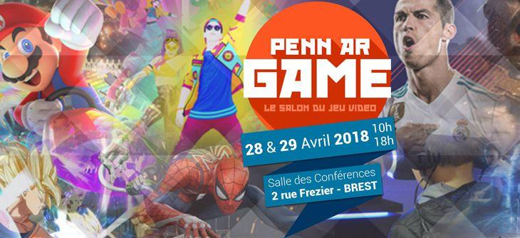 Salon du jeu vidéo Penn ar Game 2018