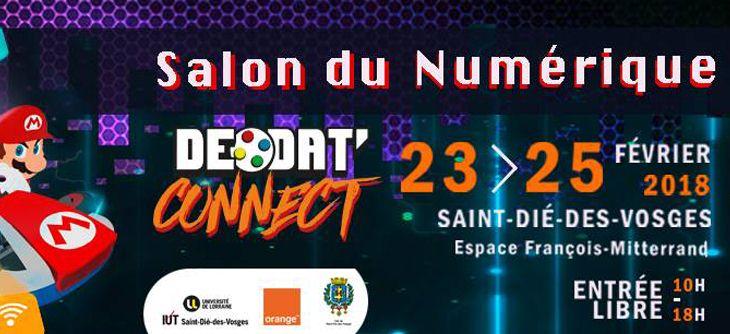 Déodat Connect 2018 - Salon du numérique 3ème édition