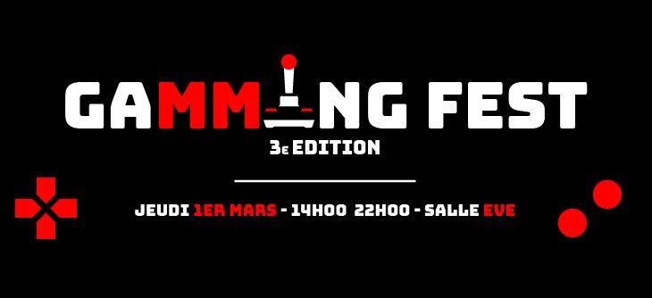 GaMMIng Fest 2018 - 3ème édition