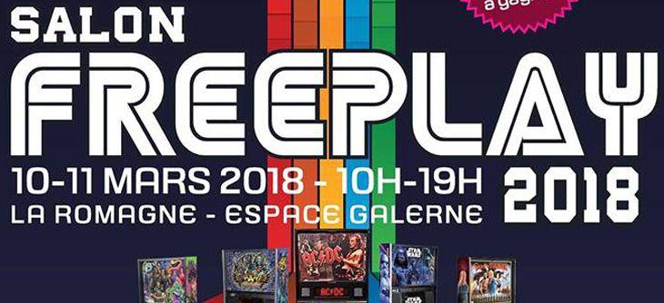 FreePlay 2018 - 5ème salon des flippers, des bornes d'arcades et du retrogaming