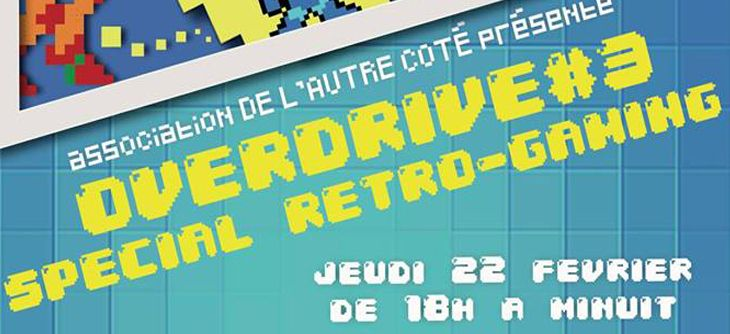 Overdrive#3 Special retro-gaming