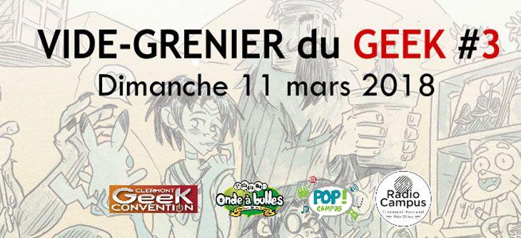 Vide Grenier du Geek Clermont #3