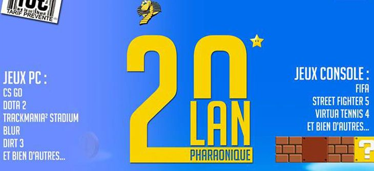 LAN Ph@raonique 20