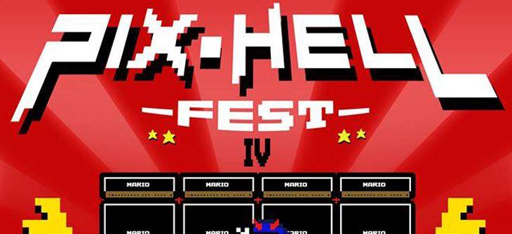 Pix Hell Fest 2018 - retro gaming et concerts gratuits